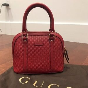 Gucci Guccissima Leather Handbag